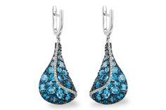 Style#:D206-32206 Metal:14KT Gold Blue Topaz:6.86 ct Total Stones Wt:7.05 ct Diamond Color:G Diamond Clarity:SI1/2