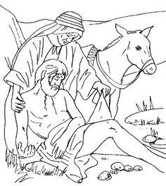 giving/growing green: good samaritan | happy hearts printables ... - Good Samaritan Coloring Pages