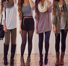 Cute fall/winter ideas.