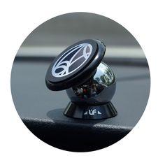 360 درجة السيارات لوحة الهاتف المحمول جبل حامل المغناطيسي المغناطيس حامل steelie سيارة كيت الذكي حامل لفون ل سامسونج