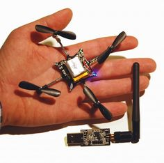 Tiny, Hackable Quadcopter Drone