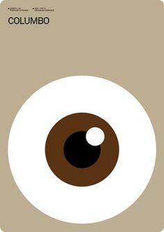 Columbo - Minimalist Poster