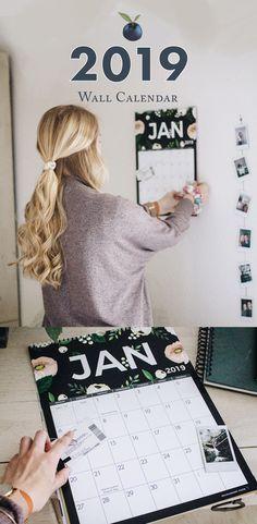 2019 Wall Calendar by Huckleberry Paper 2019 Calendar, Huckleberry, Cool Walls, Diy Wall, Organize, Diy And Crafts, Gift Ideas, Paper, Prints