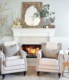 30 Beautiful fall-inspired living room designs