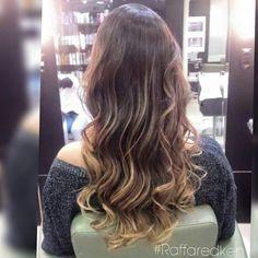 Brunette #raffaredken #redken #tratamento #hair #hairstyle #blond #brunettehair #ondaspoderosas