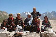 Yaghnobi People from the Yaghnobi Valley in Tajikistan.
