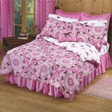 Girls Horse Pony Pink Bedroom Set