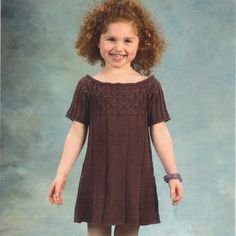 1946 Worsted Merino Superwash Girl's Smock Dress http://www.pinterest.com/source/yarn.com/