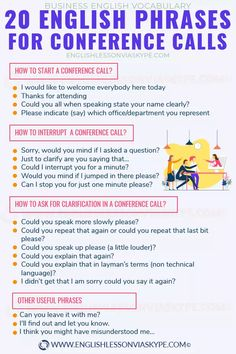 Conference call English vocabulary - Business English with Harry 👴