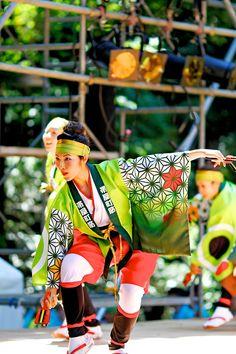 Dance festival in Tokyo, Japan