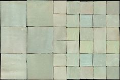 Zelliges (Marrocan tiles) in color 25 by Emery & cie