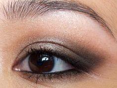 Smokey Asian Eye Makeup