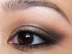 Smokey Asian Eye Makeup