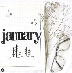 11 Best January Bullet Journal Cover Page Ideas for 2021 - Bullet Planner Ideas