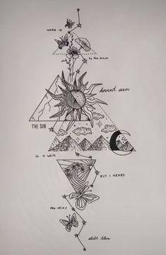 Body Art Tattoos, Tattoo Drawings, Hand Tattoos, Small Tattoos, Vintage Tattoo Art, Piercing Tattoo, Piercings, Arte Van Gogh, Simplistic Tattoos