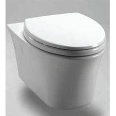 Check out the TOTO CWT486MFG-2 Maris Wall Hung Dual Flush Toilet and In-Wall Tank System in White with Copper Supply Line priced at $665.45 at Homeclick.com.