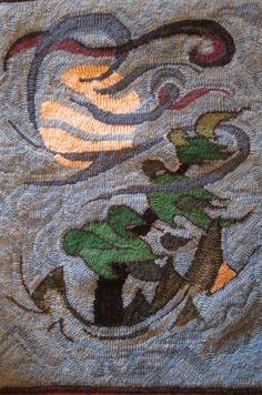 """Tree, Moon, Wind"" Adapted Kirk Brant. Fine cut. - Bev Baker (Image 1 of 27)"