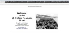 HistoryLab resources for teaching US History...a TON of materials