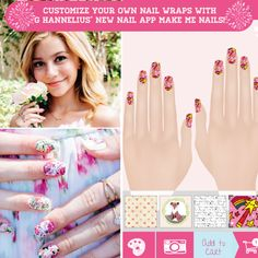 G Hannelius nail art