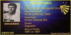 ARQUIVO LOBÃO: GALERIA DE CRAQUES - Eduardo