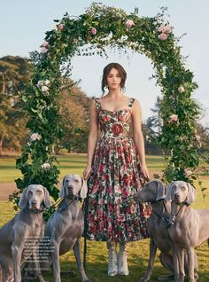 """""""On Top of the World"""" Gemma Arterton for Town & Country Magazine UK Spring 2017"""
