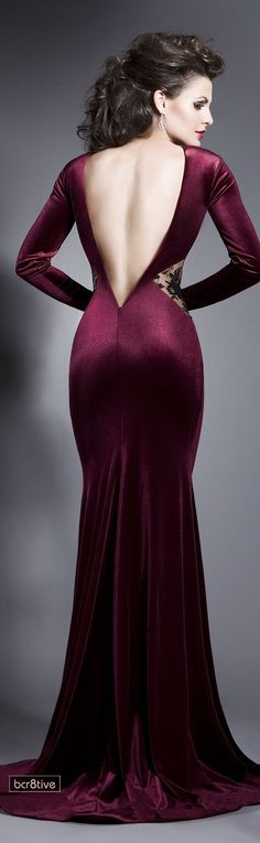 Evening gown, couture, evening dresses, formal and elegant Bien Savvy -- Thrill Me