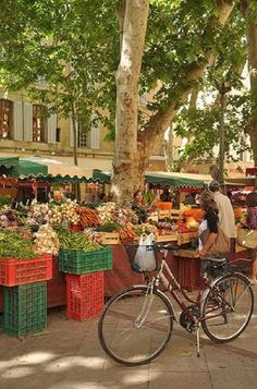 Market Day in Provence, France