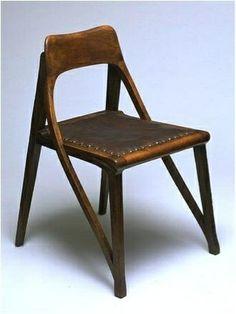 Richard Riemerschmid, chair for a music room, 1899