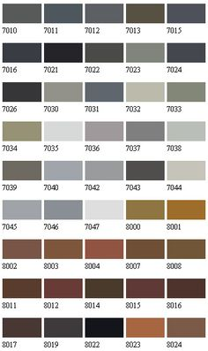 Ral 7030 Stone Grey Building Colours Pinterest