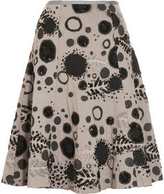 Alabama Chanin Junes Spring Skirt - Lyst