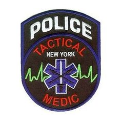 FDNY Firefighter shirts, patches and pins. Quick shipping of all FDNY products - Police Tactical Medical Patch - NY FIRESTORE