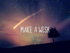 Make à wish !!