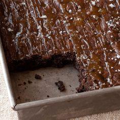Salted Caramel Brownies - Barefoot Contessa