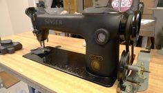 vintage industrial singer sewing machine, model 241-11