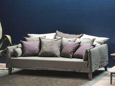 Canapé 4 places avec revêtement amovible UP 16 Collection Up by Gervasoni | design Paola Navone