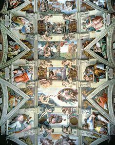 La Chapelle sixtine par Michel Ange