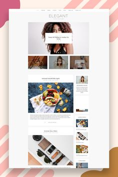 Elegant is a minimalist WordPress theme. This WordPress theme is ideal for all types of Bloggers, beginners as well as for professional Bloggers. The beauty of this theme is its simplicity. It's suitable for a lot of different purposes. Lifestyle, fashion, travel, photography and decor style is included in the theme. It is very quick to install and can be easily customized via the theme's option panel. All widgets are optional as well. #minimalblogtheme #wordpressthemeblog #blogtheme