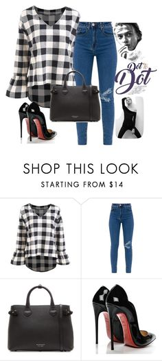 """""""Untitled #71"""" by edina-danis ❤ liked on Polyvore featuring Burberry and Christian Louboutin"""