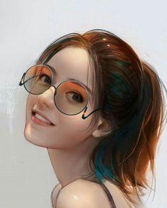 이미지: 사람 art - 2019 anime art girl, digital art girl 및 ani Anime Girl Cute, Beautiful Anime Girl, Anime Art Girl, Beautiful Girl Drawing, Beautiful Fantasy Art, Manga Girl, Cartoon Kunst, Cartoon Art, Girl Cartoon