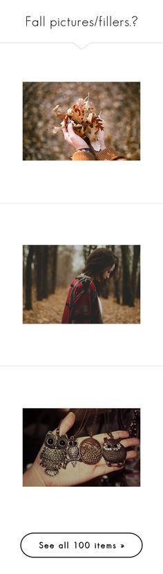 """""""Fall pictures/fillers.♥"""" by seeda ❤ liked on Polyvore featuring pictures, photos, backgrounds, autumn, fall, fillers, saying, quotes, phrase and text"""