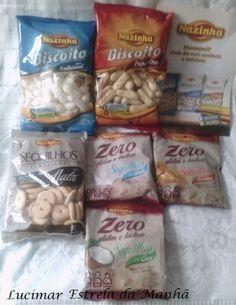 Estrela da Manhã: Biscoitos Nazinha Zero Glúten e Lactose