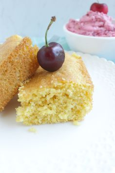 GF Cornbread with Cherry butter petitfoodie