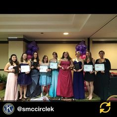 RG @smccirclek: Indiana District of Circle K International District Convention 2014-2015. Saint Mary's Circle K Belles came home with twelve awards, including the Indiana District Distinguished Club Award.