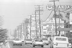 Harbor Blvd, Anaheim, CA across the street from Disneyland, circa late I lived extremely close on Katella at this time period. Orange County California, Anaheim California, Vintage California, Southern California, Disneyland California, Disney Fun, Disney Parks, Walt Disney, Cities