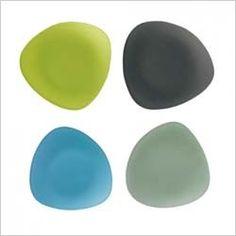 Sol Calypso Dinnerware | Celebration Seaglass Triangle Plates Recycled Glass, Sea Glass, Stupid, Dinnerware, Triangle, Celebration, Recycling, Plates, Gift Ideas