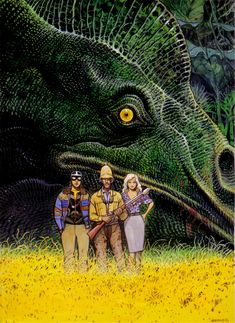 Moebius' dinosaur hunters