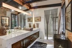 Vanity countertop profile- Lenny Kravitz's Former French Quarter Pad is On the Market, Asking $1.16M - Curbed New Orleans