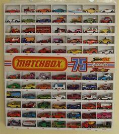 Matchbox cars..