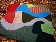 Love this play mat - LARGE Wool Waldorf Farm Playmat, Eco Friendly Toy, Upcycled. $155.00, via Etsy.