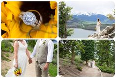 Colorado Wedding Pictures at Sapphire Point http://www.raynamcginnisphotography.com/best-of-2015-colorado-wedding-pictures/  Colorado Elopement, Colorado Wedding, Colorado Elopement Photographer, Colorado Elopement Locations, Dillon Lake Wedding, Sapphire Point Elopement, Sapphire Point Wedding, Yellow Wedding bouquet, Rocky Mountain Wedding
